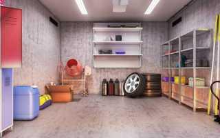 Как залить пол в гараже своими руками