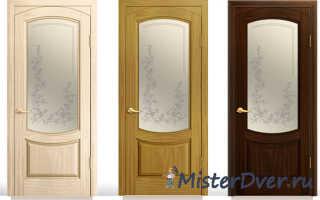 Как заменить стекло в межкомнатной двери