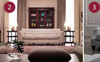 Мягкая мебель с каретной стяжкой: классика класса люкс