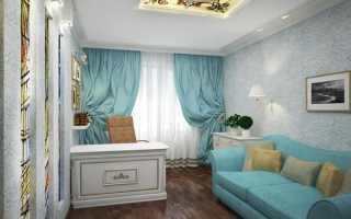 Совмещение спальни-кабинета в одной комнате: 6 способов зонирования