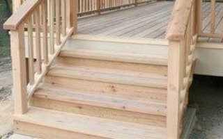Чем обработать деревянное крыльцо