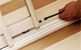 Как установить раздвижные двери шкафа купе; простые практические советы