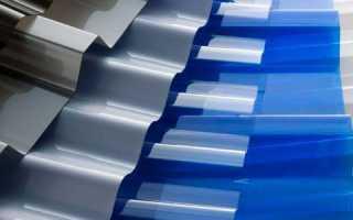 Сравнение металлического профнастила и поликарбоната