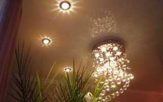 Выбираем лампочки для натяжных потолков