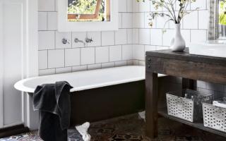 6 способов обновить ванную комнату без ремонта