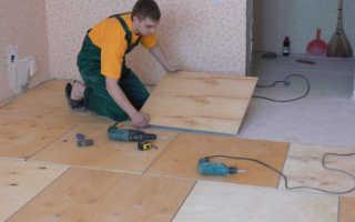 Как правильно уложить на старый деревянный пол новые доски