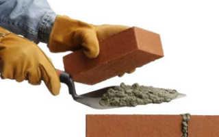 Особенности кладки стен из кирпича
