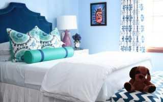 Голубая спальня; 100 фото элегантного дизайна в спальне