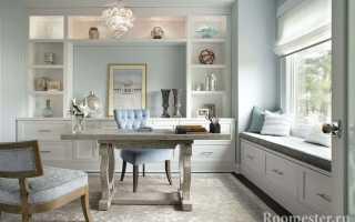 Дизайн кабинета; идеи интерьера на фото