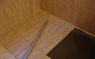 Подготовка деревянного пола к укладке плитки; 3 различных способа проведения работ