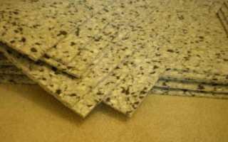 Какую выбрать подложку под ковролин