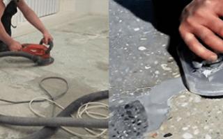 Шлифовка бетона болгаркой: как правильно, насадки — 4 поясняющих раздела