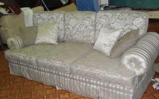 Как перетянуть диван своими руками: стоит ли этим заниматься и как это лучше всего сделать