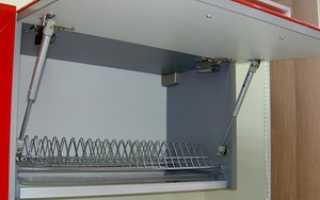 Механизмы для кухонных шкафов: цена мебельных доводчиков
