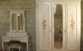 Как обновить старый шкаф в вашем доме