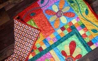 5 способов сделать домашний коврик из лоскутков ткани разных цветов
