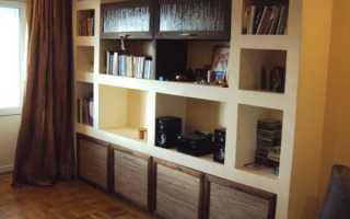 Шкаф из гипсокартона своими руками: советы и нюансы по изготовлению