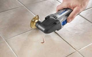 Как удалить затирку и обновить швы плитки