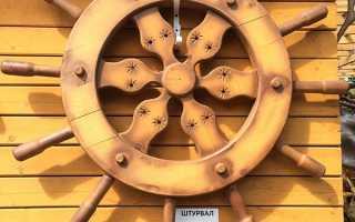 Штурвал корабля своими руками: игрушка, кондитерское украшение, декор интерьера – множество возможностей без особых навыков