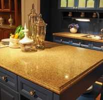 Критерии выбора цвета столешницы на кухню