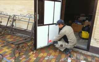Как утеплить железные входные двери своими руками